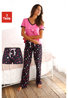 Vivance Dreams Pyjama (3 - tlg.)