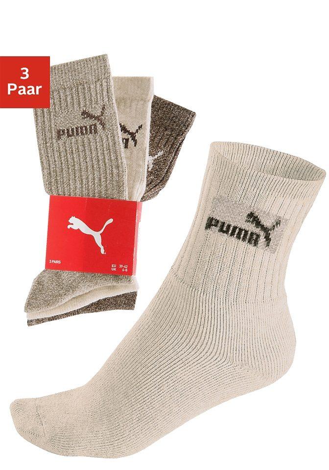 PUMA Klassische Sport- und Freizeitsocken (3 Paar)