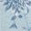 hellblau-geblümt