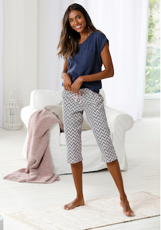 Vivance Dreams Capri-Pyjama