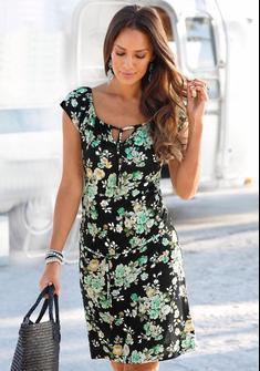 s.Oliver Beachwear Sommerkleid