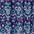 blau-lila bedruckt