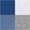 1x weiss + 2x grau mel. + 2x royalblau +  2x jeans mel.