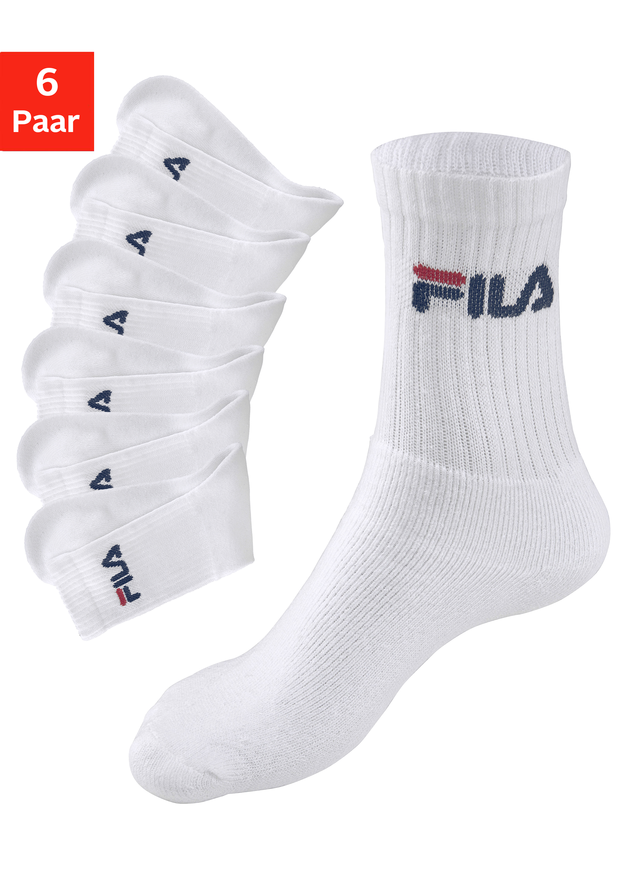 Fila Tennissocken (6 Paar)