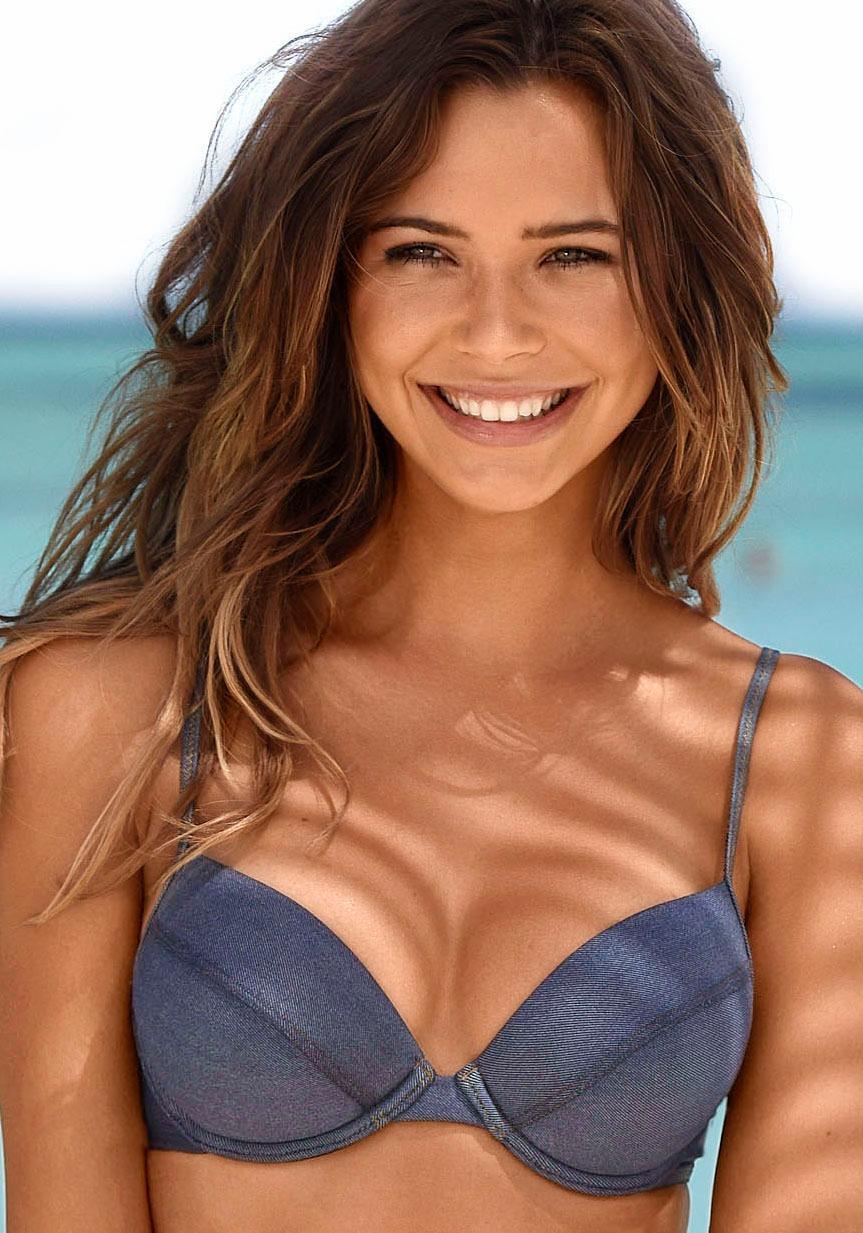 Sunseeker Push-Up-Bikini-Top »Jeans«