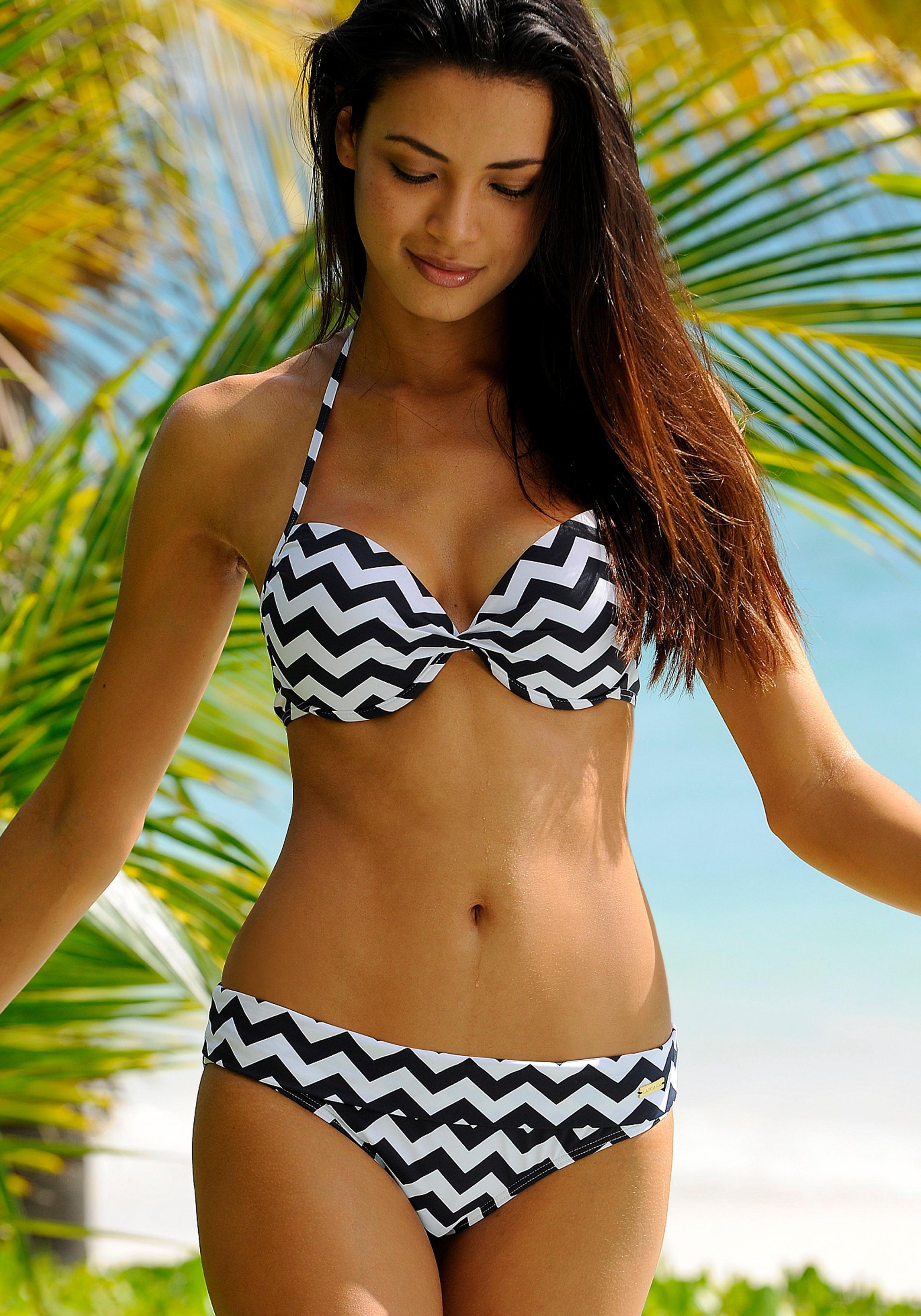 LASCANA Bikini-Hose »Grace« mit Umschlagbund