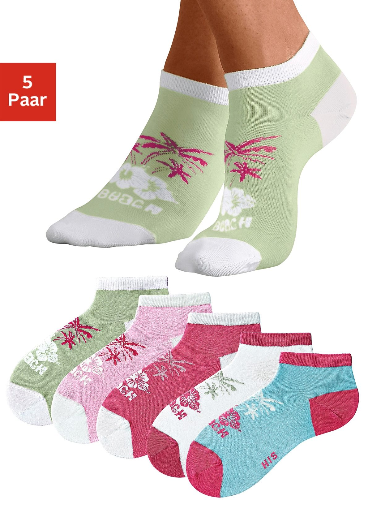 H.I.S Sneakersocken (5 Paar)