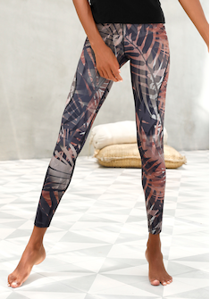 LASCANA Leggings »Lascana Leggings Tropical«