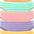 orange +grün +rosa +lila +gelb