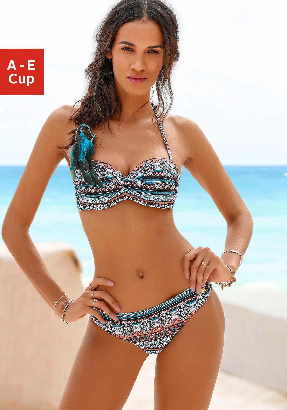 LASCANA Bandeau-Bikini-Top »Marrakesh«