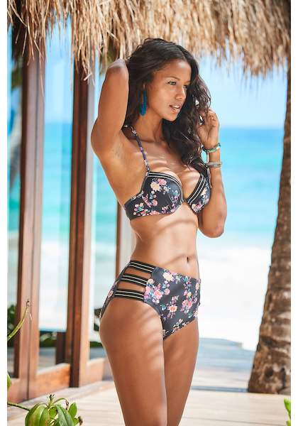 JETTE Highwaist-Bikini-Hose