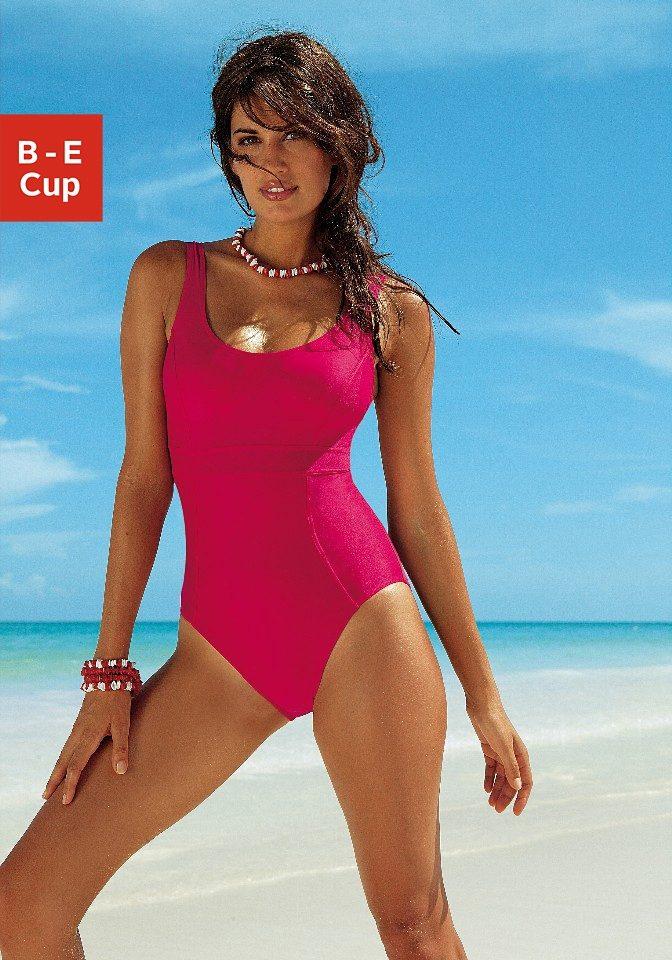 LASCANA Badeanzug mit Schlankmach- Effekt