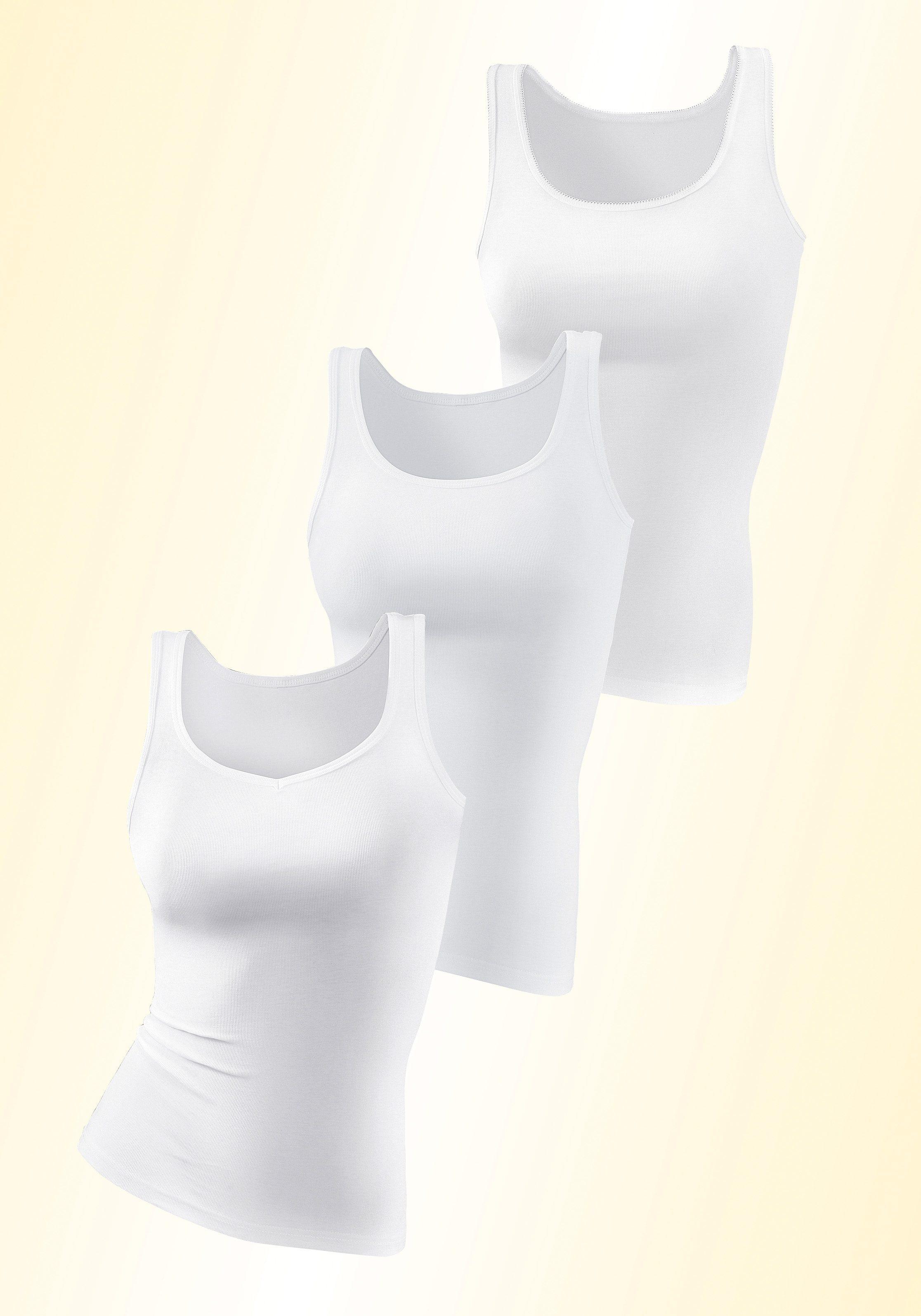 Petite Fleur Baumwoll- Hemden (3 Stück)