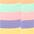 je 2 uni lila + gelb + grün + orange + rosa