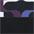 schwarz-lila-bedruckt