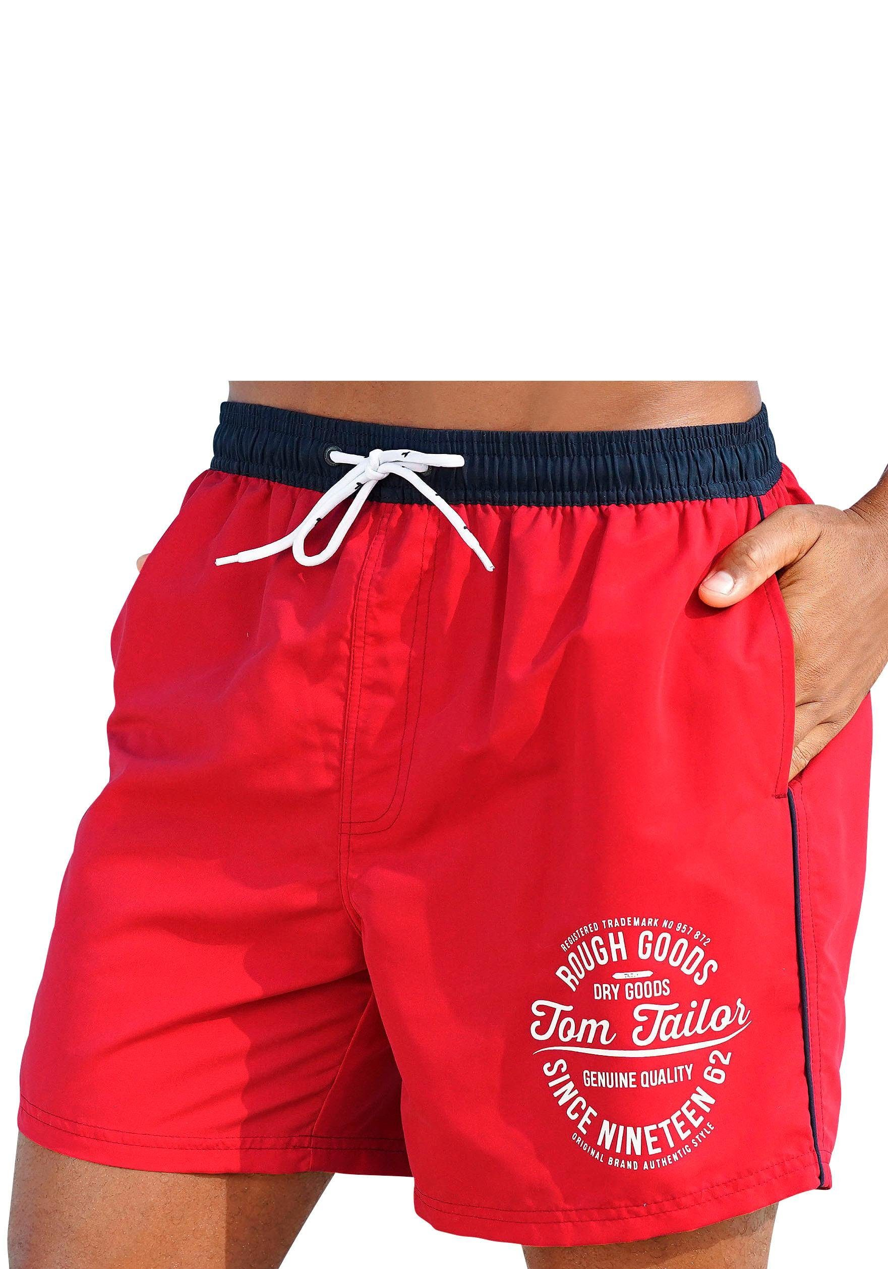 TOM TAILOR Badeshorts