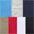 rot + blau + marine + khaki + grau-meliert + weiss + schwarz