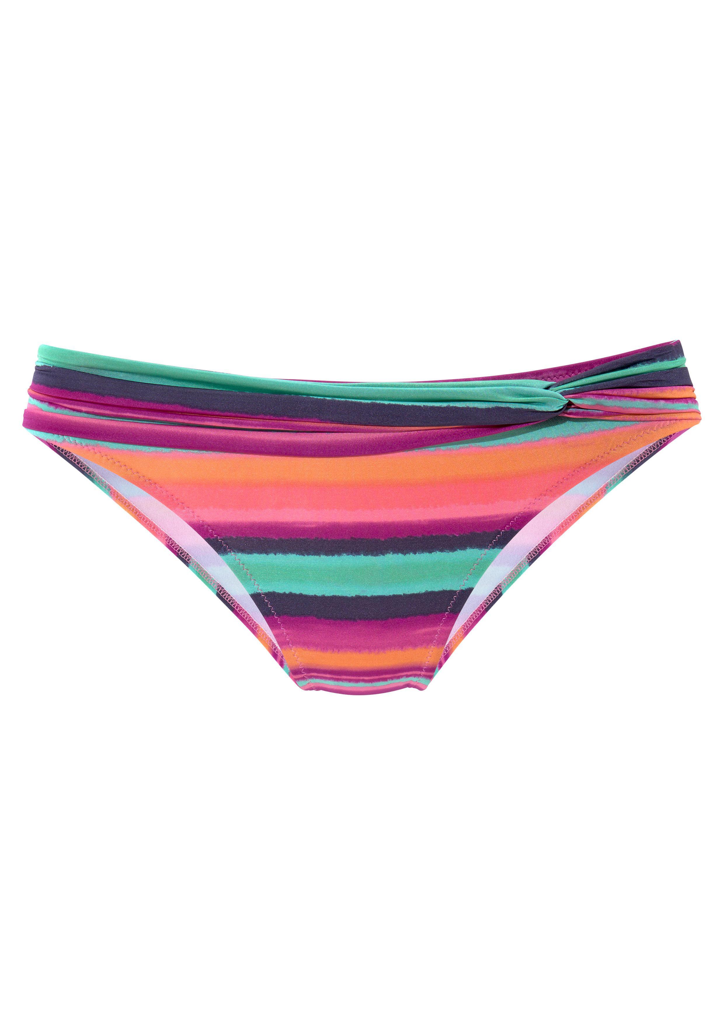 LASCANA Bikinihose »Rainbow« mit Gürtel