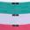 grau + weiss + mint + flieder + pink