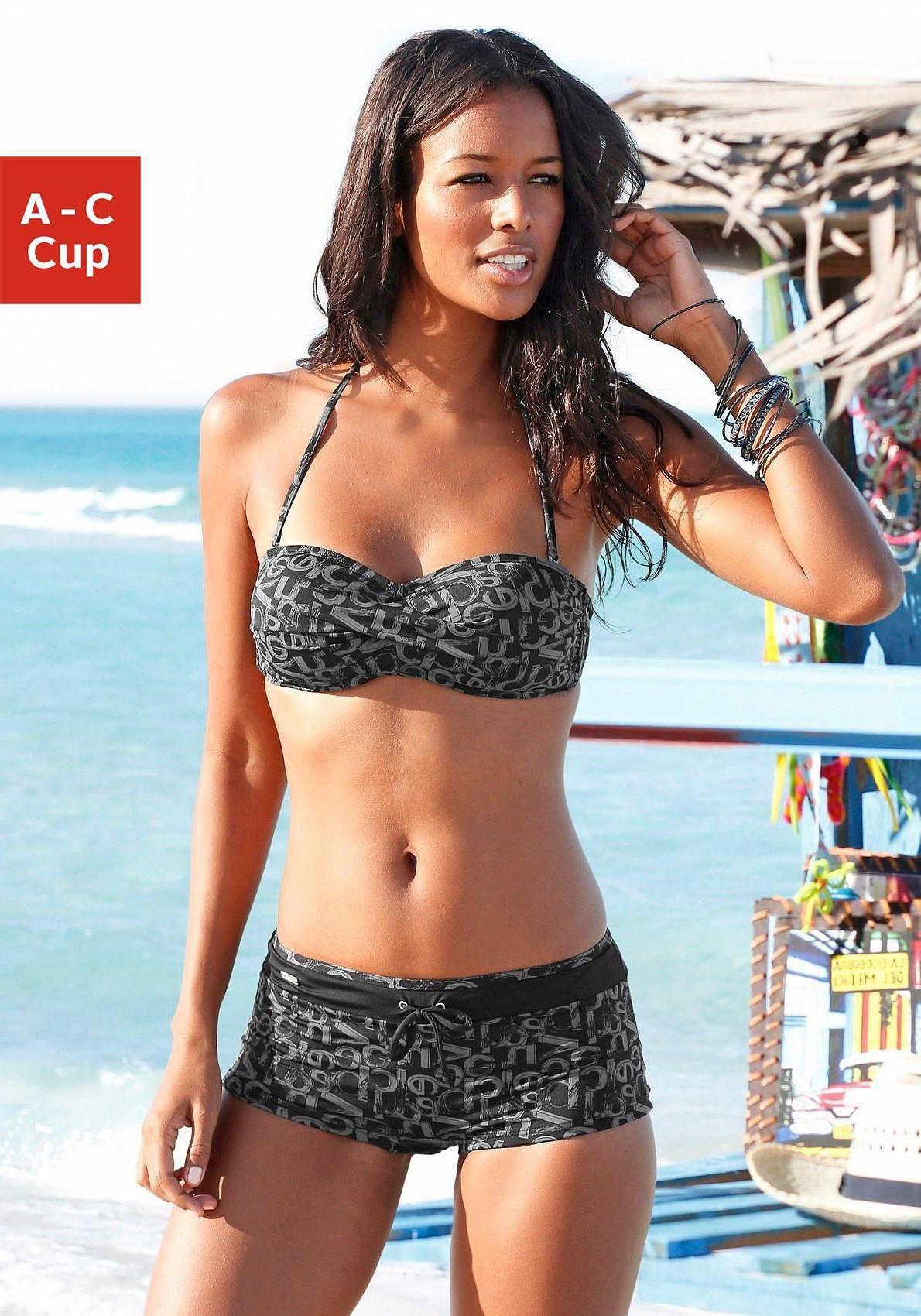 Venice Beach Bandeau-Bikini-Top »Karibik«