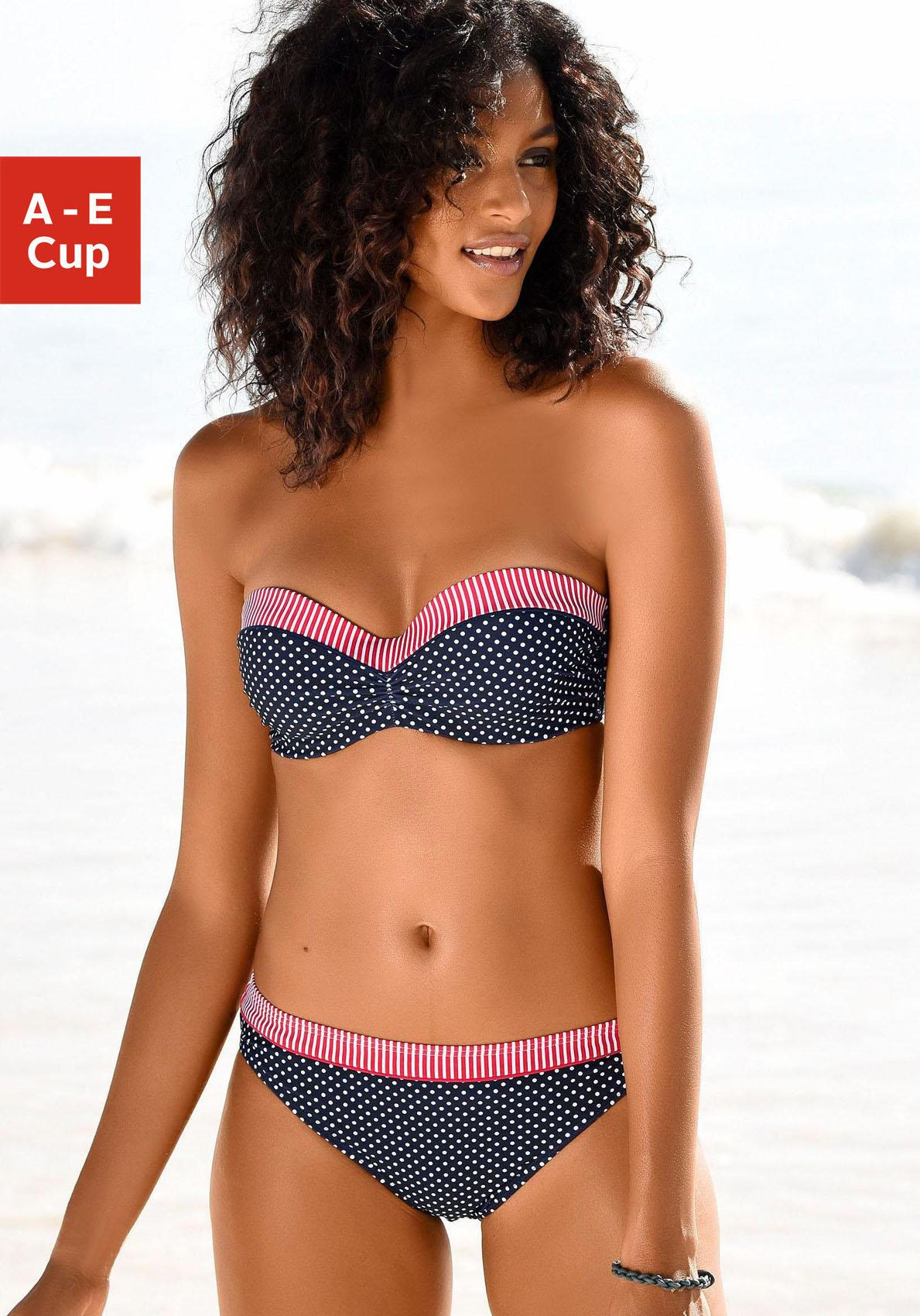 s.Oliver RED LABEL Beachwear Bandeau-Bikini-Top »Avni«