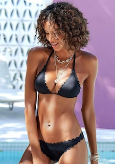 LASCANA Triangel-Bikini-Top »Scallop«