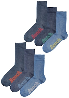 Bench. Socken (Box, 6 Paar)