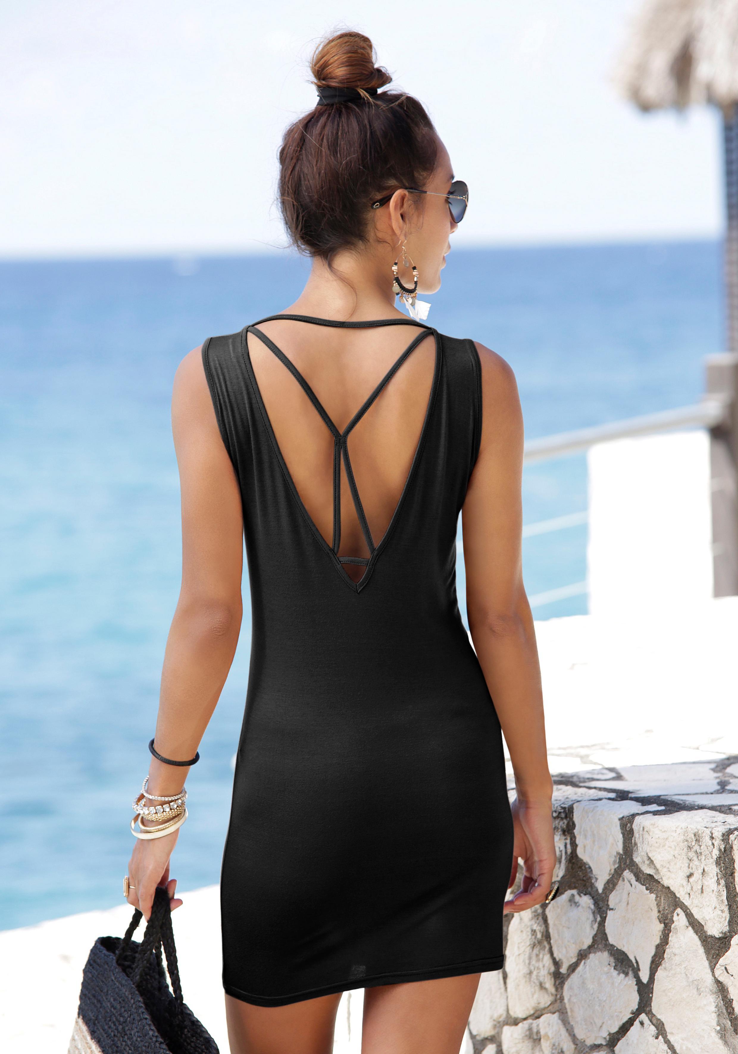 LASCANA Longshirt mit sexy Rückenausschnitt