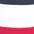 rot + weiss + 2x marine + grau meliert
