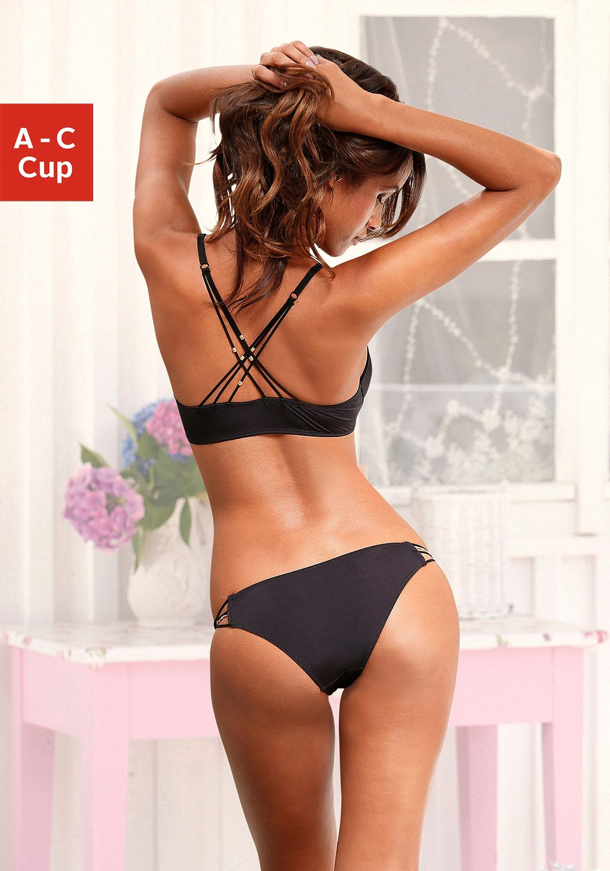 LASCANA Set: Push-up-BH + Rioslip (2-tlg.)