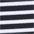 schwarz-weiss gestreift