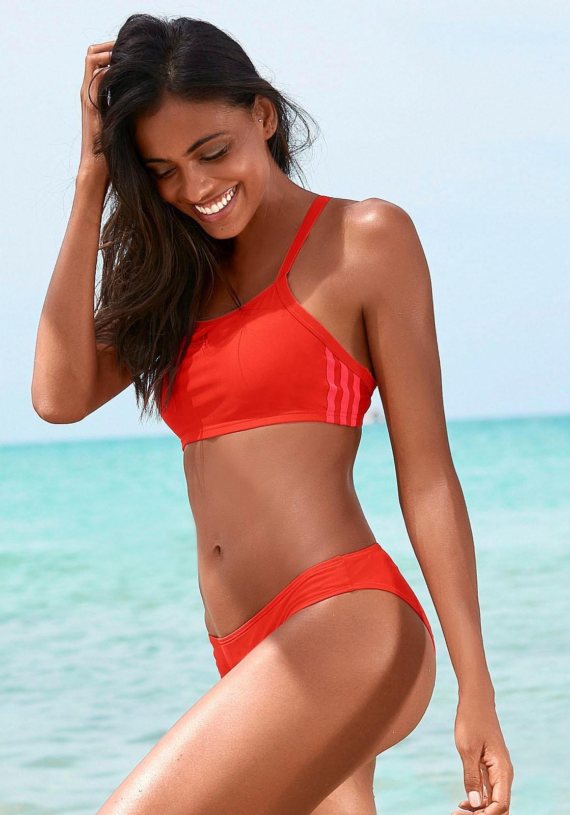 adidas bustier bikini
