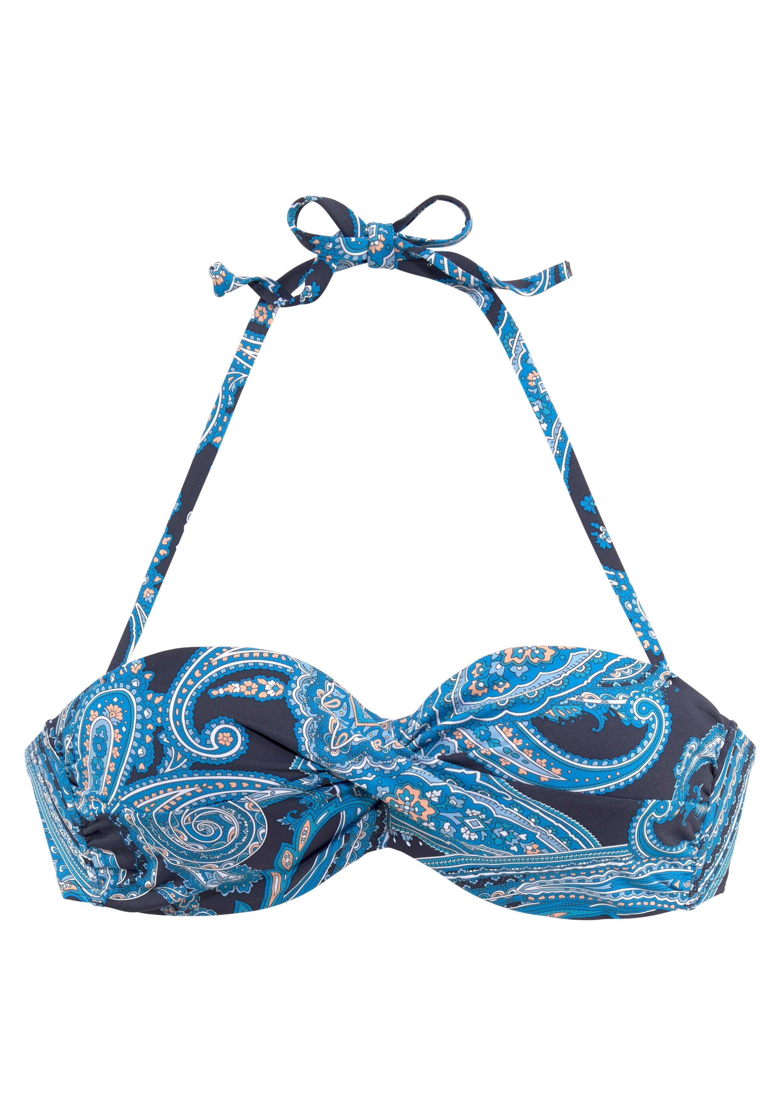 LASCANA Bügel-Bandeau-Bikini-Top »Boho«