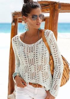 s.Oliver Beachwear Rundhalspullover