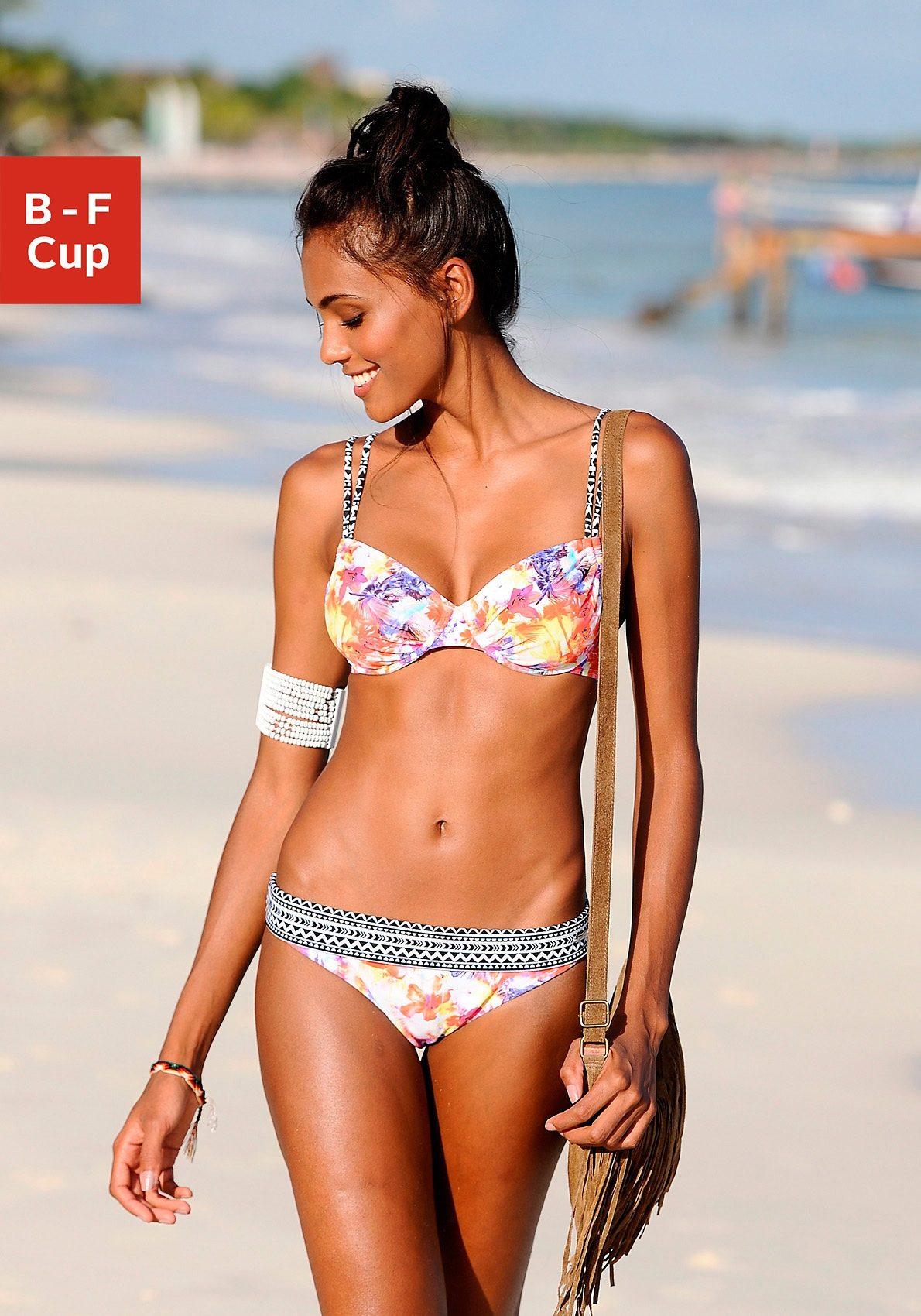 Venice Beach Bügel-Top »Spring« mit modischem Tropicalprint
