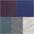 grau-meliert + blau-grün + aubergine + blau + anthrazit-meliert