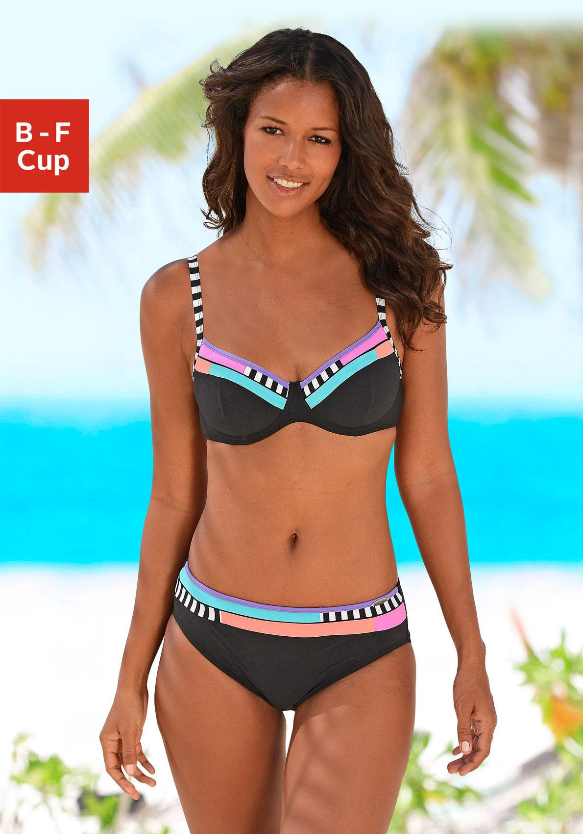 Sunflair Bügel-Bikini mit schönen Kontrasteinsätzen
