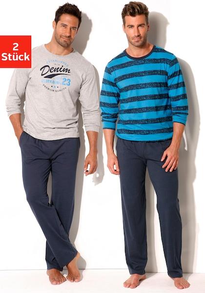 H.I.S Pyjama (2 Stück)