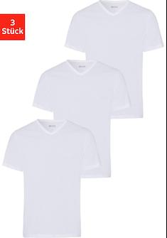 Boss V-Shirt »T-Shirt VN 3P CO« (Packung, 3 tlg.)