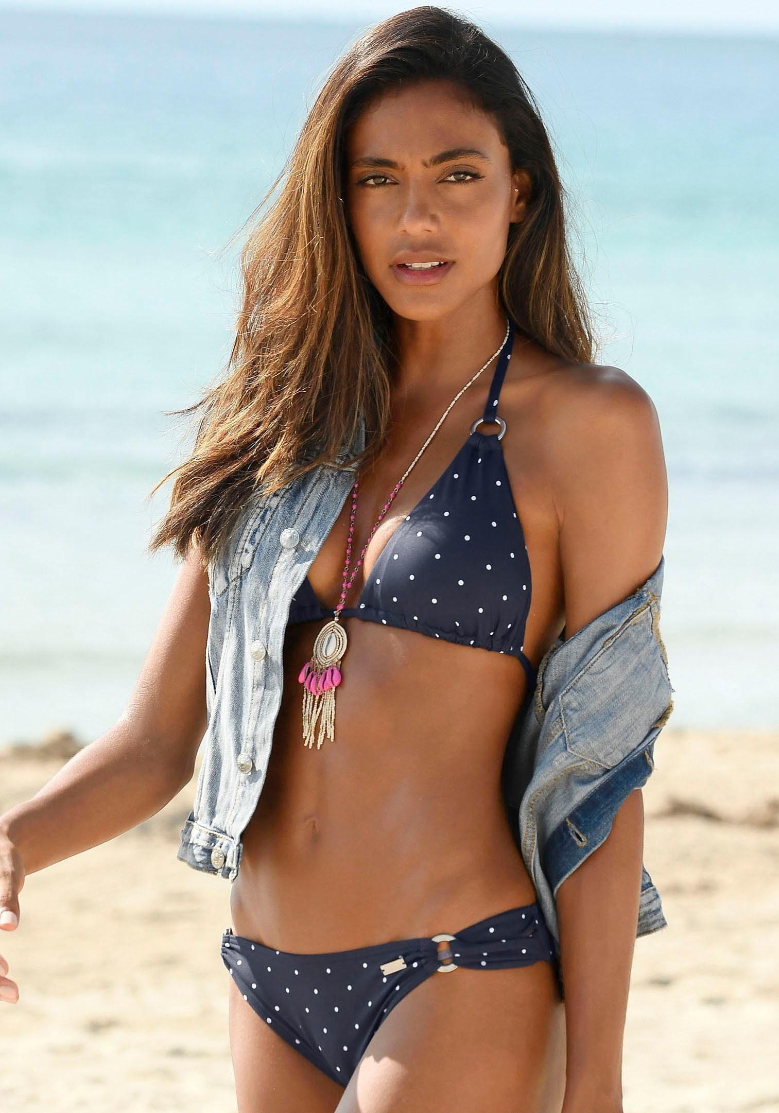LASCANA Triangel-Bikini-Top »Sparkel«
