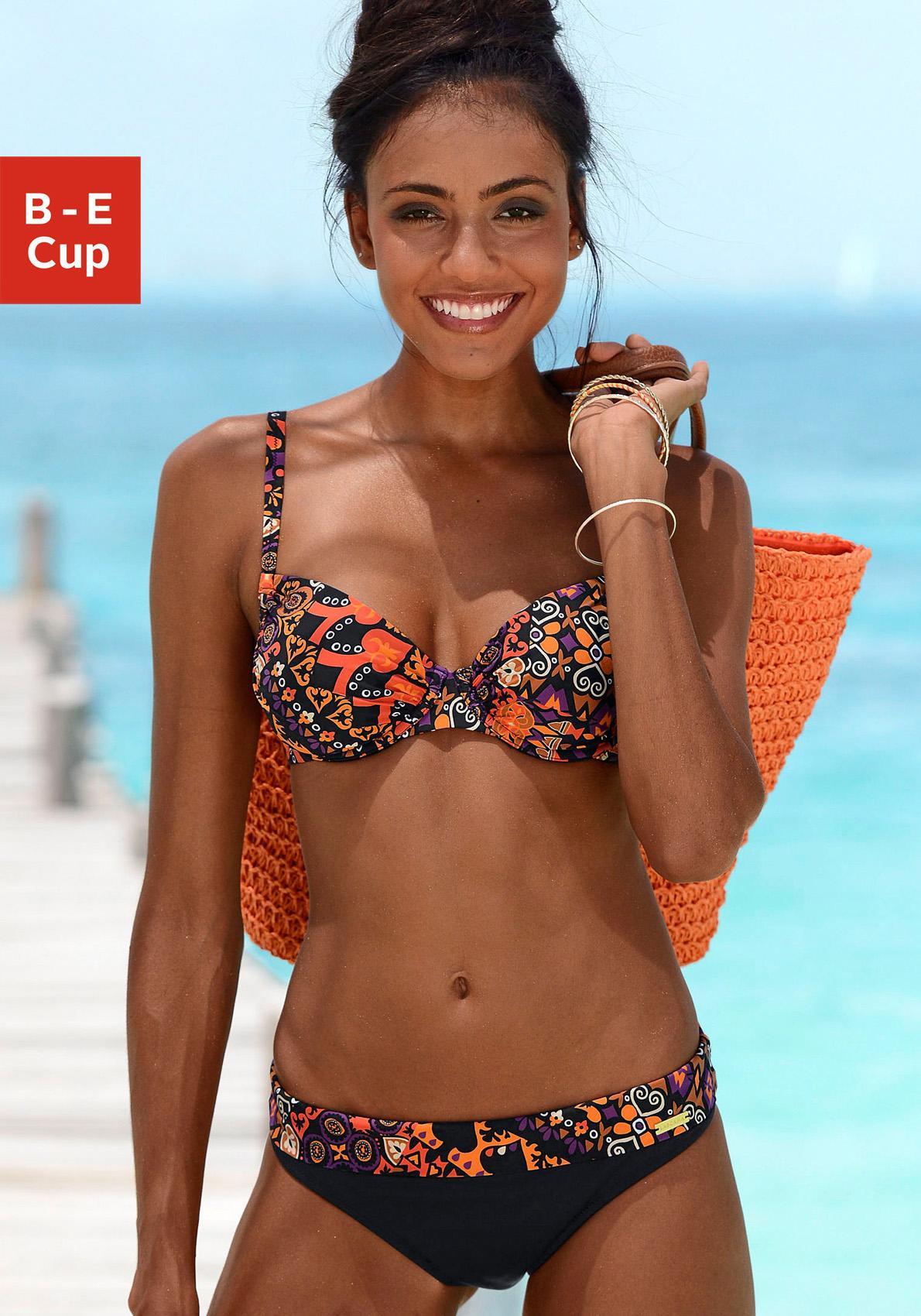 LASCANA Bügel-Bikini im schönem Druckdesign