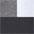 schwarz + weiss + grau-meliert