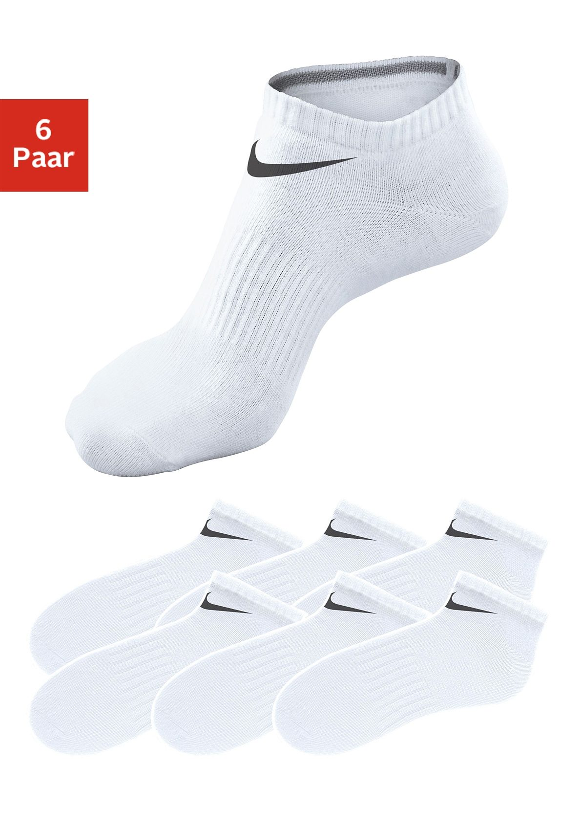 Nike Sneakersocken (6 Paar)