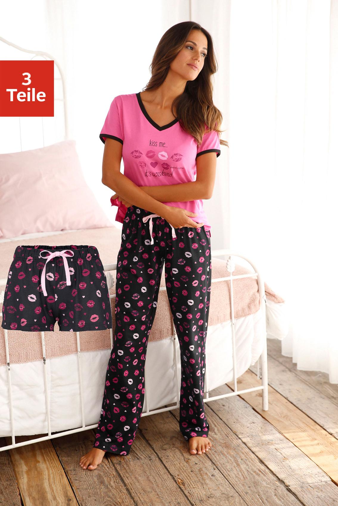 Vivance Dreams Pyjama (3-tlg.)