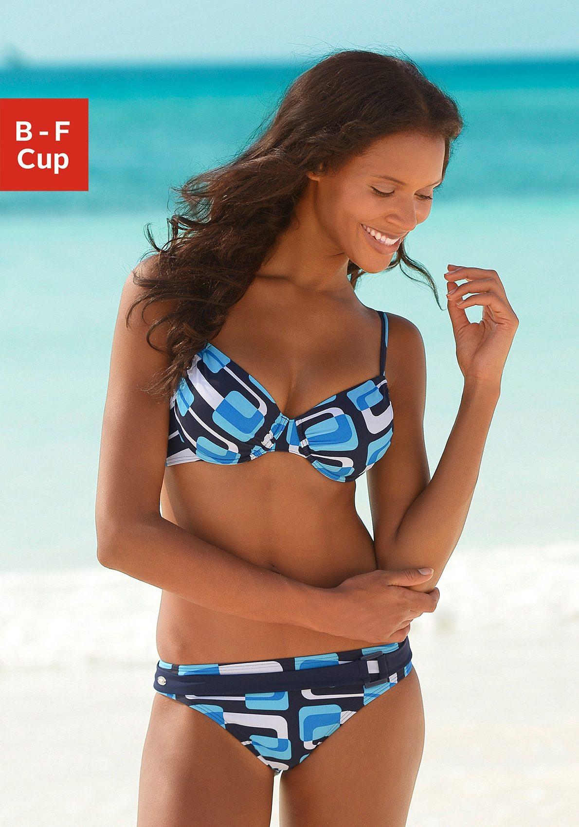 KangaROOS Bügel-Bikini im Retro-Design