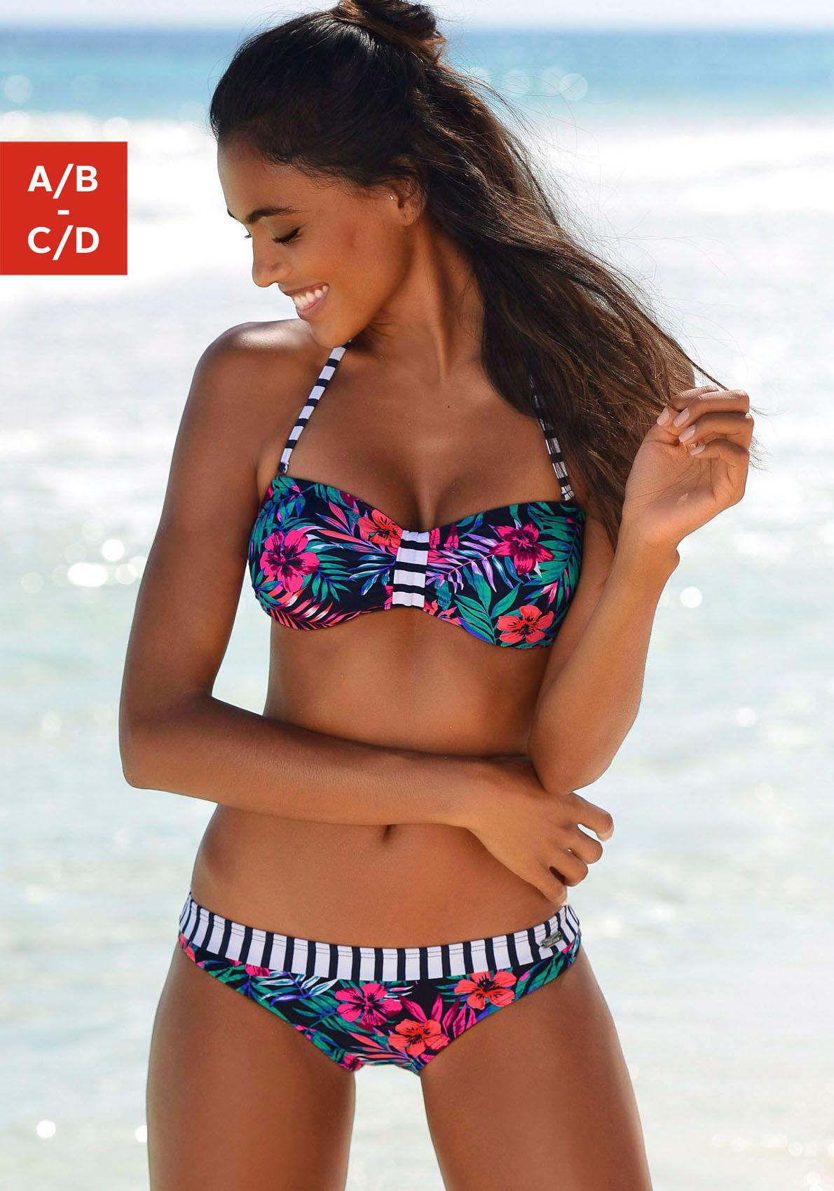 Venice Beach Bandeau-Bikini-Top »Summer«