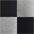 schwarz + grau-meliert