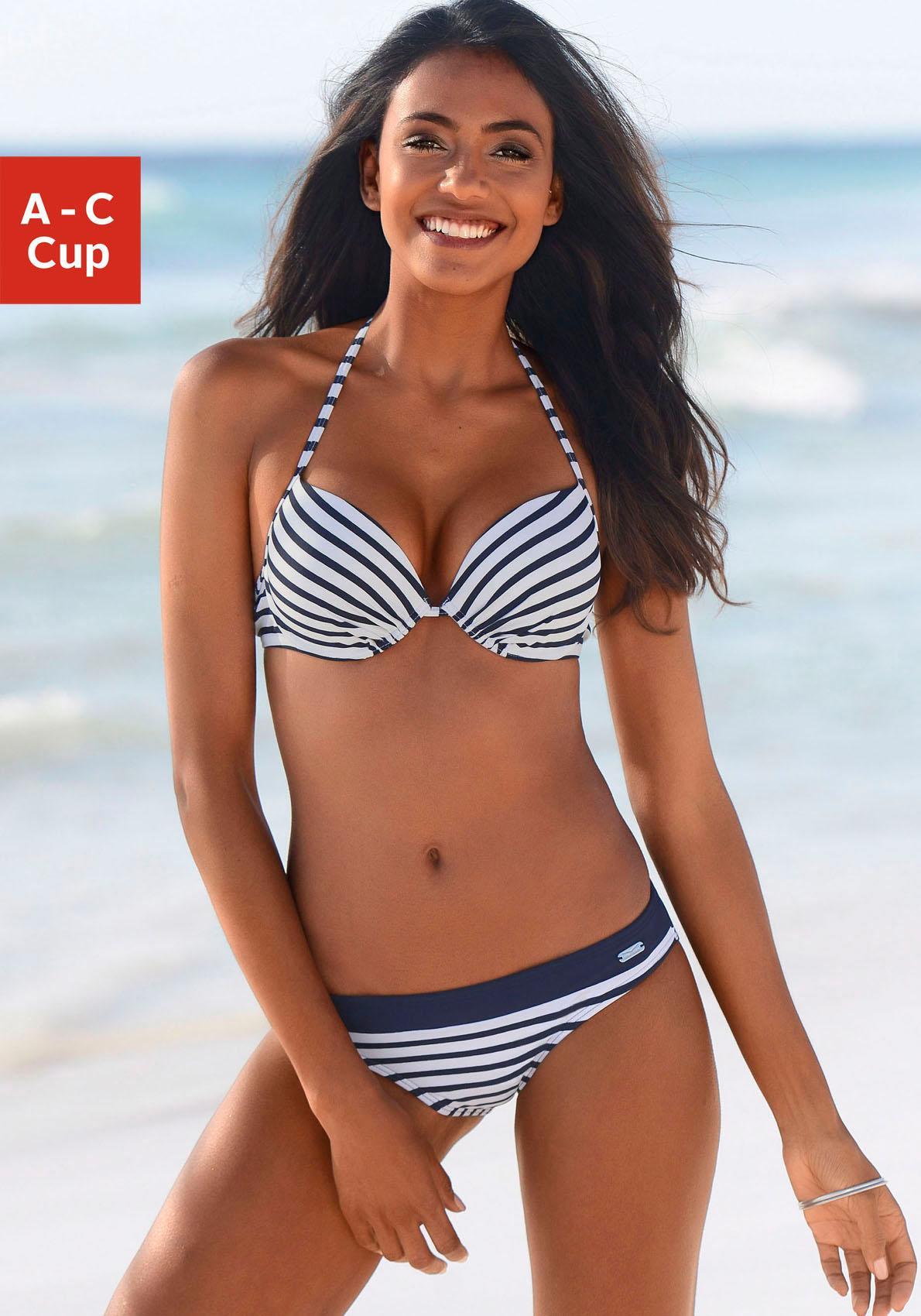 Venice Beach Push-Up-Bikini-Top »Summer«