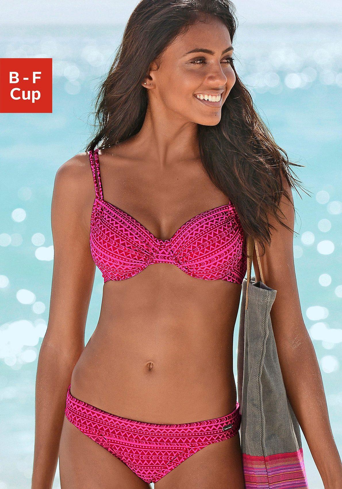 Venice Beach Bikini-Hose »Ethno« mit Umschlagbund