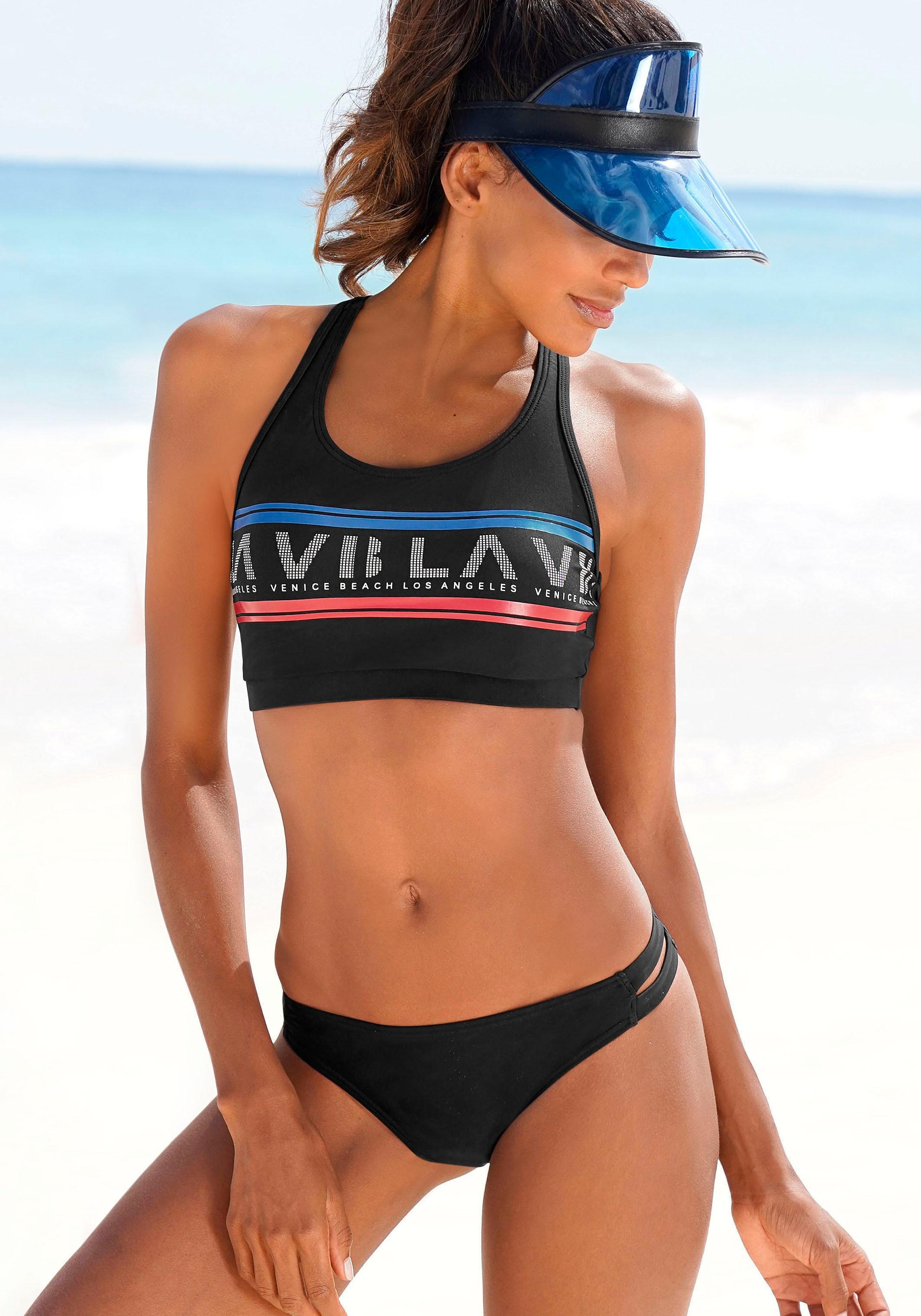 Venice Beach Bustier-Bikini
